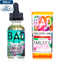 Bad Salt - Farley's Gnarly Sauce Nic Salt eJuice Bad Drip