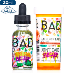 Bad Salt Don't Care Bear Premium Nicotine Salt eLiquid eJuice Direct
