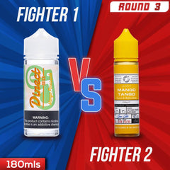 Us vs. Them - Direct Juice Mango Pineapple vs. Basix Series Mango Tango eJuice Showdown
