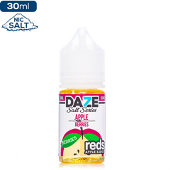 Daze MFG Reds Apple Salt Series - Berries Nic Salt eJuice Reds Apple Salt Series