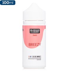 Milkshake Liquids - Breezy Shake - buy-ejuice-direct