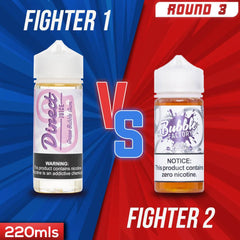 Us vs. Them - Direct Juice Grape Bubble Gum vs. Bubble Factory Grape eJuice Showdown