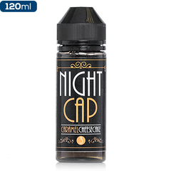 Night Cap Caramel Cheesecake Premium Vape Juice eJuice Direct