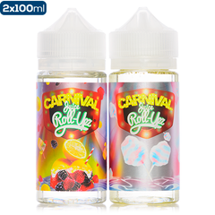 Carnival by Juice Roll Upz 2 Pack 200ml Deal premium eliquid ejuice direct