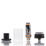 Aspire Cleito black 22mm Sub Ohm Tank breakdown ejuice direct hardware