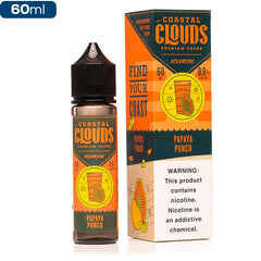 Coastal Clouds Oceanside Papaya Punch Premium Vape Juice eJuice Direct