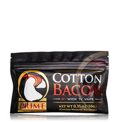 Cotton Bacon Prime Wick your RDTA & RDA with eJuice Direct