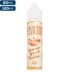Country Clouds Banana Bread Puddin' Premium Vape Juice eJuice Direct