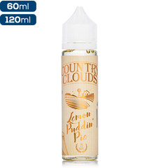Country Clouds Lemon Puddin' Pie Premium Vape Juice eJuice Direct