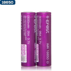 Efest 3000mAh 18650 Batteries eJuice Direct