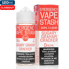Emergency Vape Stash - Sugary Graham Cracker closeout EmergencyVapeStash