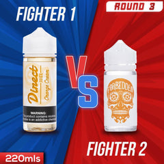 Us vs. Them - Direct Juice Orange Cream vs. Forbidden Skull Nectar eJuice Showdown
