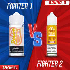 Us vs. Them - Direct Juice Strawberry Shortcake vs. Fresh Farms Strawberry Farm Cake eJuice Showdown