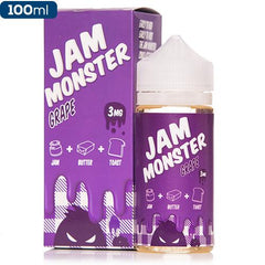 Jam Monster Grape 100ml Premium eliquid eJuice Direct