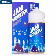 Jam Monster Blueberry Jam 100ml Premium eliquid eJuice Direct