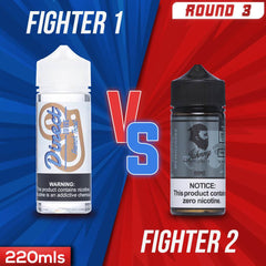 Us vs. Them - Direct Juice French Toast vs. Jonny Applevapes Frenchman Delight eJuice Showdown