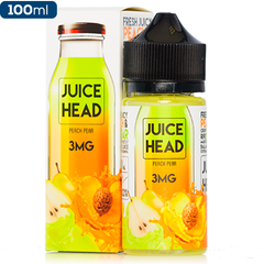 Juice Head E-Liquid Peach Pear Vape Juice eJuice Direct