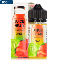 Juice Head E-Liquid Premium Vape Juice Strawberry Kiwi eJuice Direct