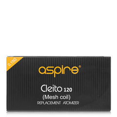 Aspire - Cleito 120 Mesh Coils - buy-ejuice-direct