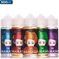 The Mamasan 5 Pack Deal Premium vape Juice eJuice Direct