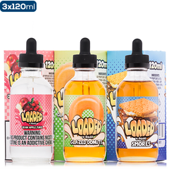 loaded by ruthless 3-Pack premium ejuice