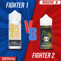 Us vs. Them - Direct Juice Loopy Cereal vs. The Mamasan Super Cereal eJuice Showdown
