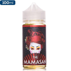 The Mamasan Bruce Lychee Premium vape Juice eJuice Direct