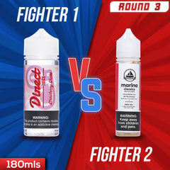 Us vs. Them - Direct Juice Strawberry Shake vs. Marina Classics Strawberry Milkshake eJuice Showdown