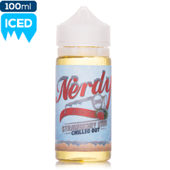 Nerdy Strawberry Kiwi Chilled Out 100ml Premium eliquid ejuice direct