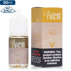 NKD100 Salt by Naked 100 - Euro Gold Nic Salt eJuice Naked100