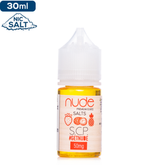 Nude Salts S.C.P. Nicotine Salt E-Liquid | Nic Salts