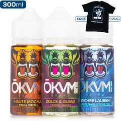 Okami x eJuice Direct Collab Swag Deal 3-Pack eJuice Okami