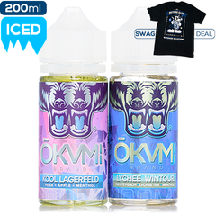Okami Menthol 2 Pack Deal Premium Vape Juice eJuice Direct
