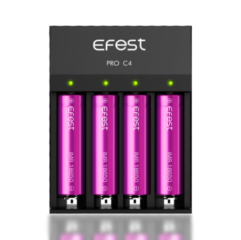 Efest - Pro C4 Battery Charger - buy-ejuice-direct