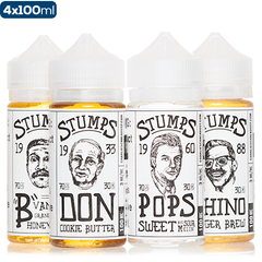 Stumps 4 Pack eJuice Stumps