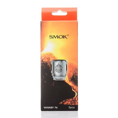 SMOK - V8 Baby-T6 Coils - buy-ejuice-direct