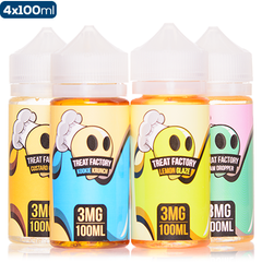 Treat Factory by Air Factory 400ml 4 pack deal premium vape juice ejuice direct