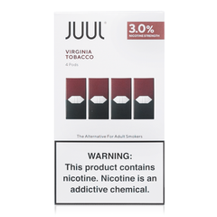 JUUL Virginia Tobacco Pods 3% - buy-ejuice-direct