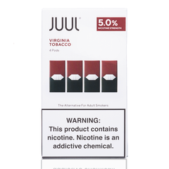 JUUL Virginia Tobacco Pods 5% - buy-ejuice-direct