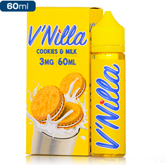 Cookies & Milk by V'nilla eLiquid Premium Vape Juice eJuice Direct