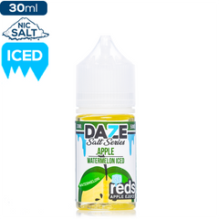 Daze MFG Reds Apple Salt Series - Watermelon Iced ejuice Reds Apple Salt Series