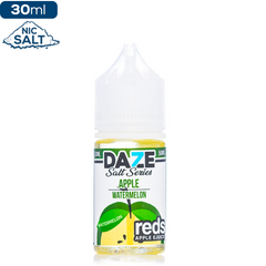 Daze MFG Reds Apple Salt Series - Watermelon Nic Salt eJuice Reds Apple Salt Series