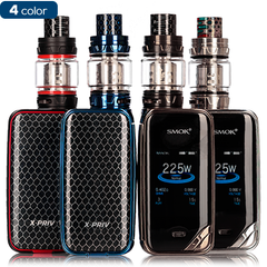 SMOK X-Priv 225W Box Mod & TFV12 Prince Sub-Ohm Tank Vape Kit ejuice direct