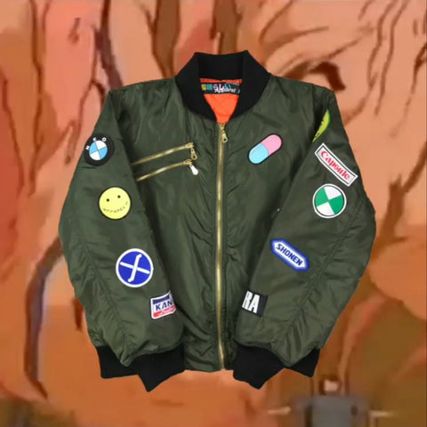AKIRA ARMY GREEN BOMBER JACKET PRE-ORDER
