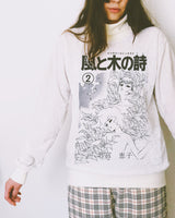 KAZE TO KI NO UTA TURTULE NECK SWEATER