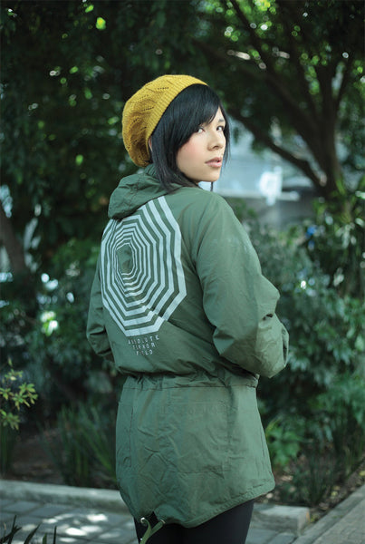 AT FIELD Reflective Parka Green