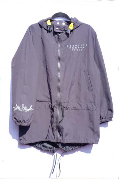 AT FIELD REFLECT1VE HOODED PARKA GRAY