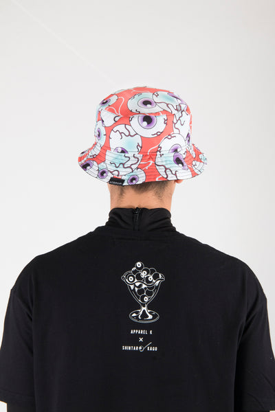 Eyeball Café bucket hat