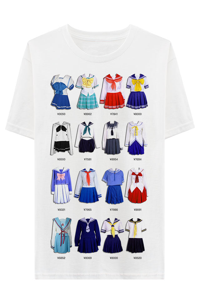 Seifuku cosplay shop T-shirt