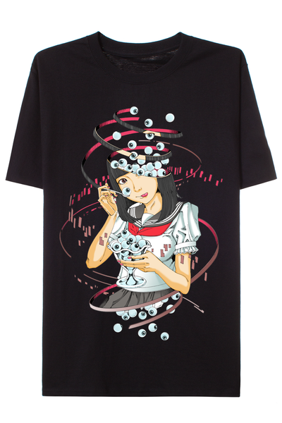 Kago Shintaro EYEBALL CAFE T-shirt